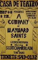 A Company of Wayward Saints - The Poster