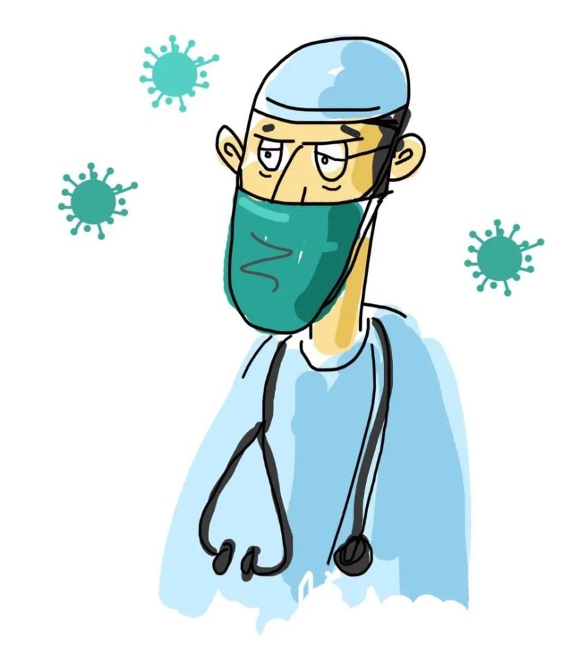Orações pelos médicos e pelos doentes de COVID-19