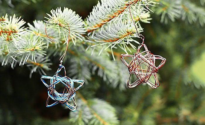 Estrelas de arame. (Foto: Divulgação)
