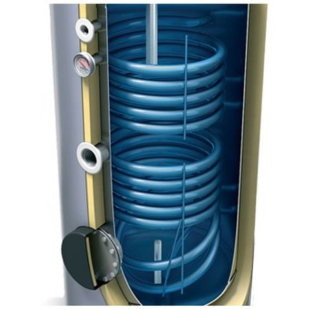 Boiler solar cu serpentina dubla Tesy EV7/5S2 200 litri