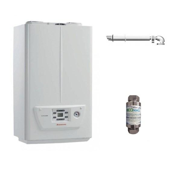 Pachet centrala termica pe gaz in condensare IMMERGAS VICTRIX OMNIA 25