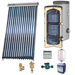 Sistem solar presurizat boiler