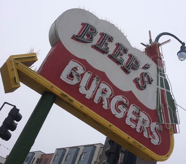 This circa-1962 burger joint is on the SF Legacy list of bars and restaurants.