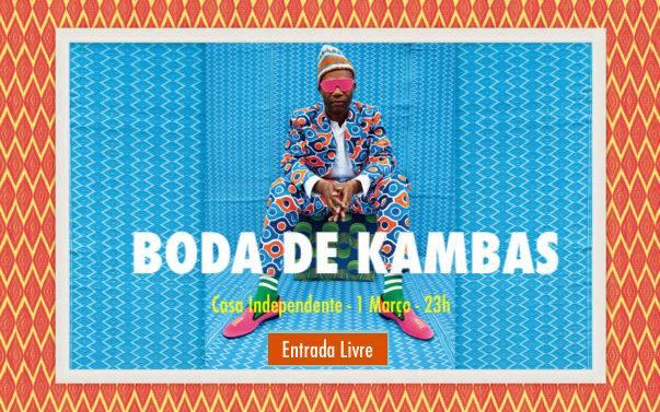 Boda de Kambas | 1 MAR | 23H