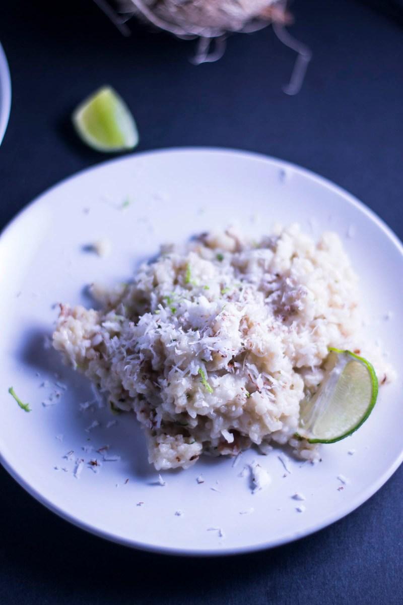 Thai Coconut Risotto