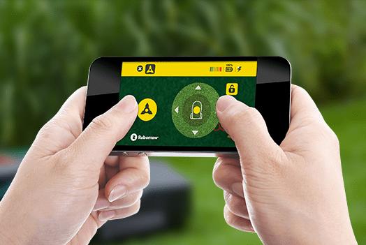 Guida da remoto su smartphone il tosaerba Robot-Tino di Casali Irrigazione