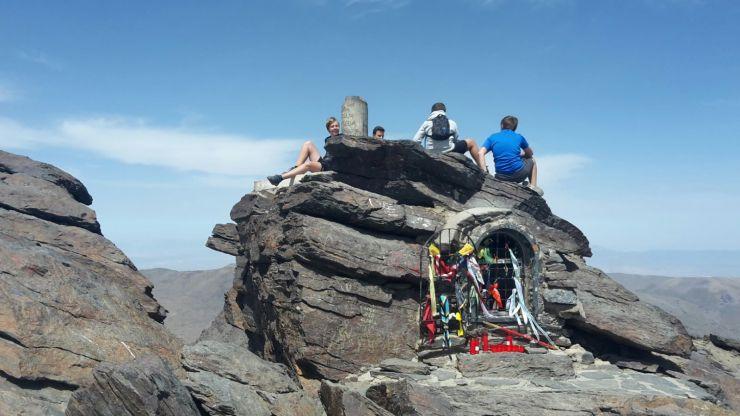 Mulhacén bestiegen (3479 m)