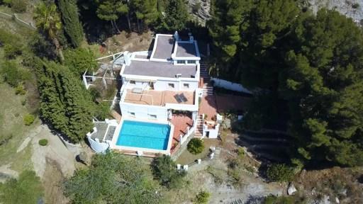 Une maison rurale avec piscine dans La Alpujarra. Granada - Espagne
