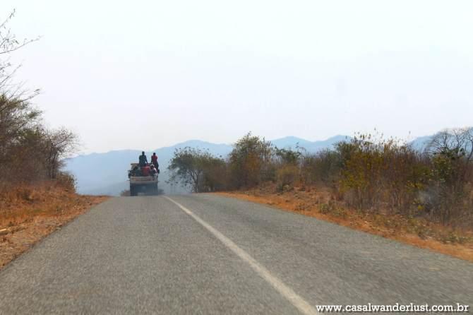 Estradas em ótimo estado de conservação