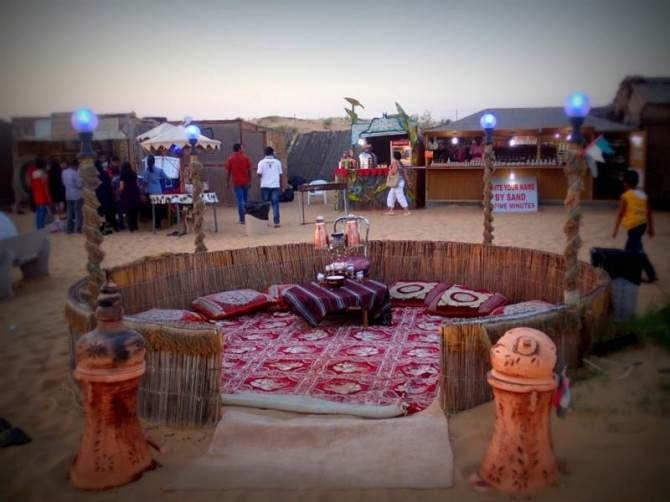 Jantar Beduino Dubai