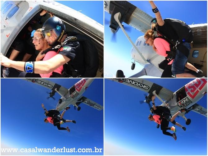 Salto de paraquedas em Dubai