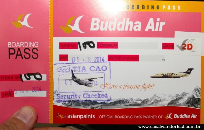 Ticket Buddha Air