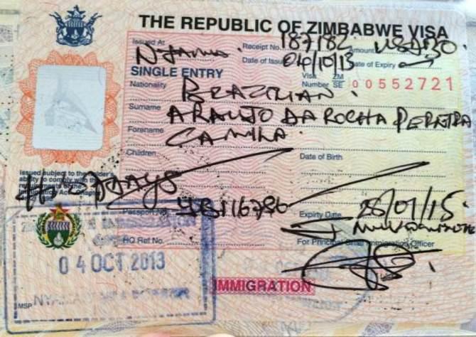 Zimbabwe Visa