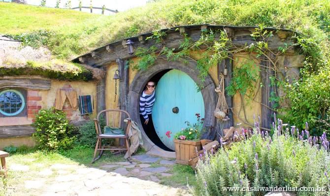 Dentro da casa dos hobbits