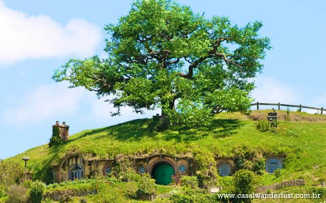 Hobbiton set movie