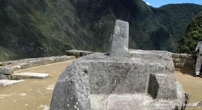 Pedra sagrada Machu Picchu