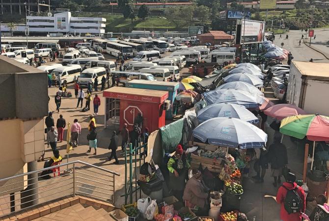 Cruzando a fronteira da Suazilândia para Durban