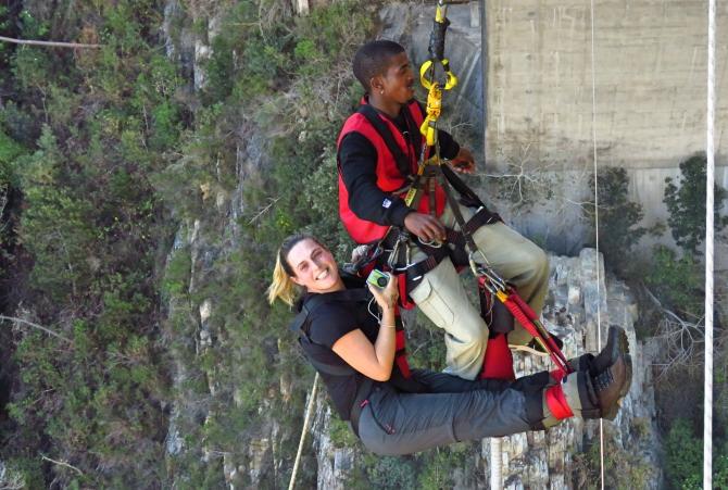 Bungy Jump em Cape Town