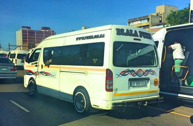 Minivans África do Sul