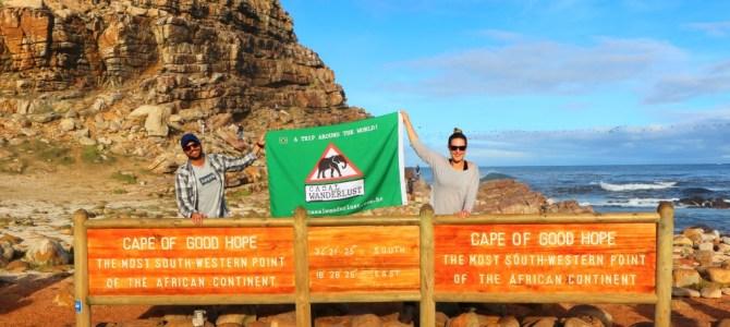 Visitando o Cabo da Boa Esperança, em Cape Town