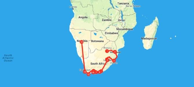 Mochilão pela África do Sul, Suazilândia e Lesoto