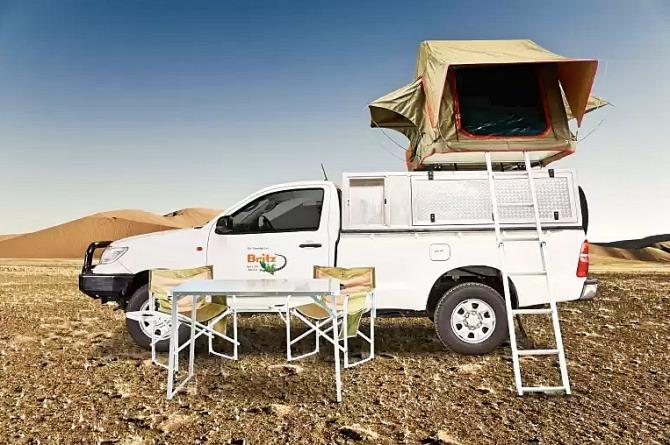 Viajando pela Namíbia com 4x4