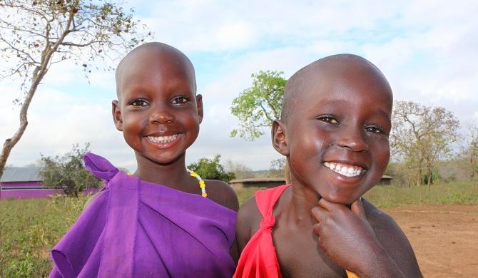 Crianças Masai