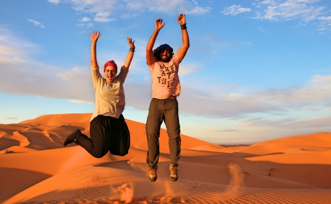 Tour pelo Deserto do Saara no Marrocos