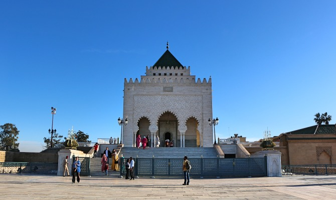 Mausoléu de Mohammed V em Rabat