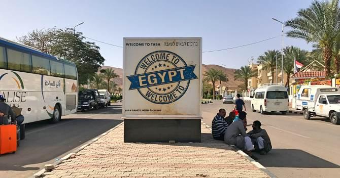 De Eilat para Dahab de ônibus