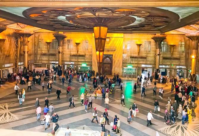 Como ir do Cairo até Luxor de trem