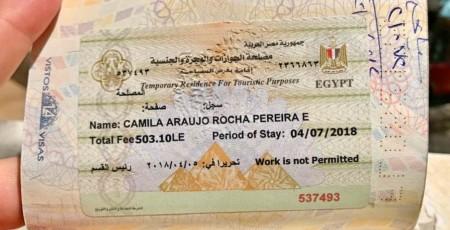 Como renovar o visto do Egito no Cairo