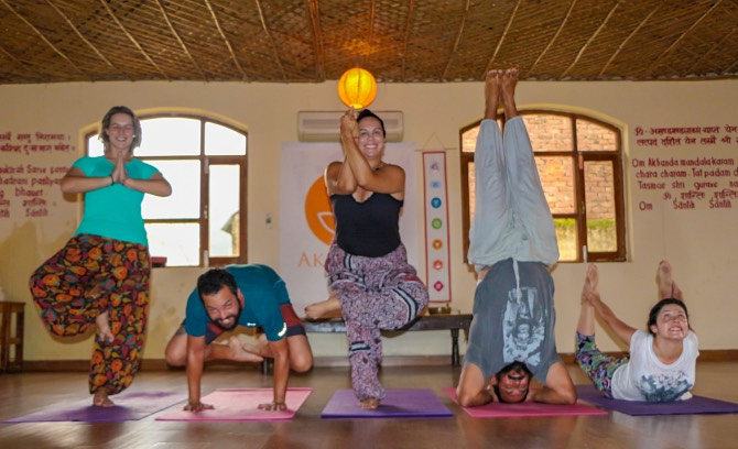 Yoga em Rishikesh