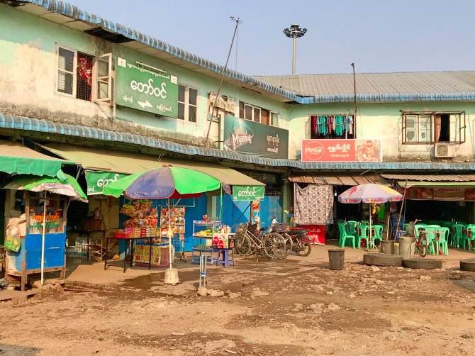 Como ir de Yangon para Mandalay de ônibus