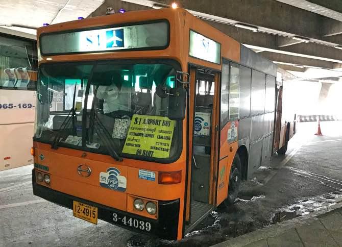Como ir do aeroporto de Bangkok para o centro e Khao San Road