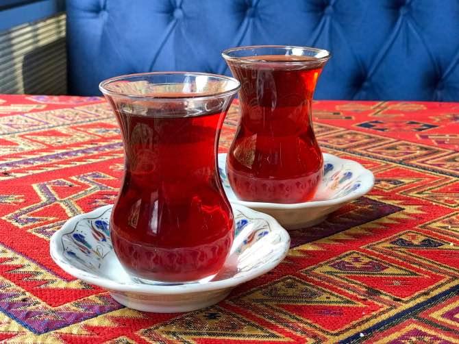Comidas típicas da Turquia -