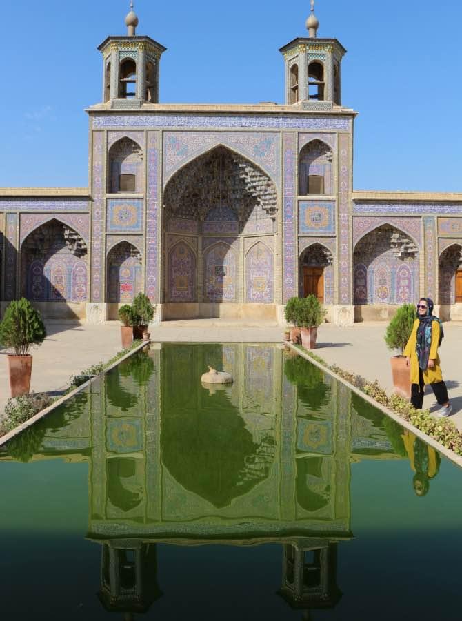 O que fazer em Shiraz - Pink Mosque