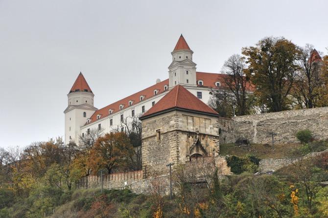 roteiro de 2 dias em bratislava - castelo de bratislava