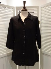 Shaped Linen Shirt, £89