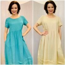 Linen dress £159