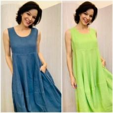 Linen dress £149