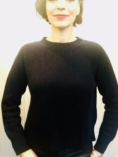 Ochre Franny wool mix Green Navy & Charcoal £159