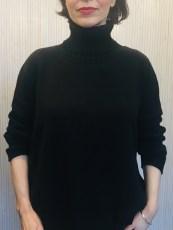 Ochre Zuri Cotton Jumper £110 Black, Charcoal, Navy, Olive & Plum