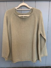 Cersei Cotton Sweater One Size £115 Oatmeal