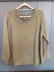 Cersei Cotton Sweater One Size £115 Oatmeal