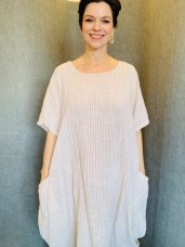 Stripe dress £59 One Size