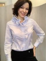 Willow Stripe cotton shirt £89
