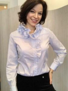 Willow Stripe cotton shirt £95