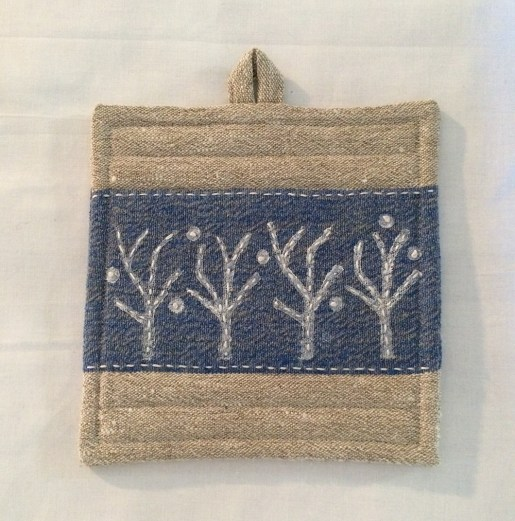 potholder_wintertrees_front