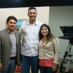 Adriano Aragão, Emílio Moreno e Natália Teixeira